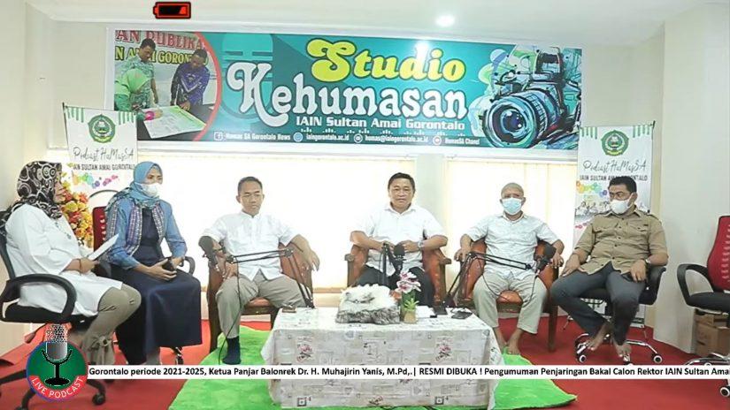 Humassa; Penjaringan Bakal Calon Rektor IAIN Sultan Amai Gorontalo periode 2021-2025 Resmi dibuka